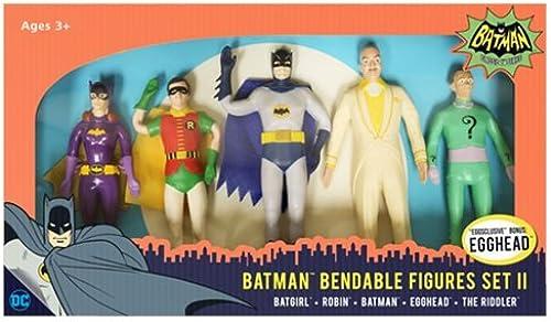 Bathomme 1966 Bendable Figures 5-Pack Set II 14 cm Croce Comics Mini