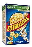 Nestlé Estrellitas Cereales de Trigo y Maíz Tostados con Miel, 450g