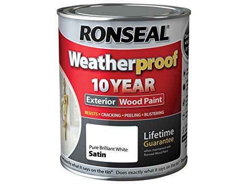 Ronseal Weatherproof 10 Year Exterior Wood Paint