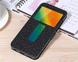 """Flip Cases - Flip Cover for for Lenovo K5 Play L38011 Case Flip Leather Phone Case for for Lenovo K5 Play K320t 5.7"""" Back Cover Funda (Black)"""