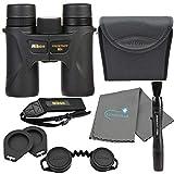 Nikon 8x30 Prostaff 7S Binoculars -16000 Bundle with a Nikon Lens Pen and Lumintrail Cleaning Cloth