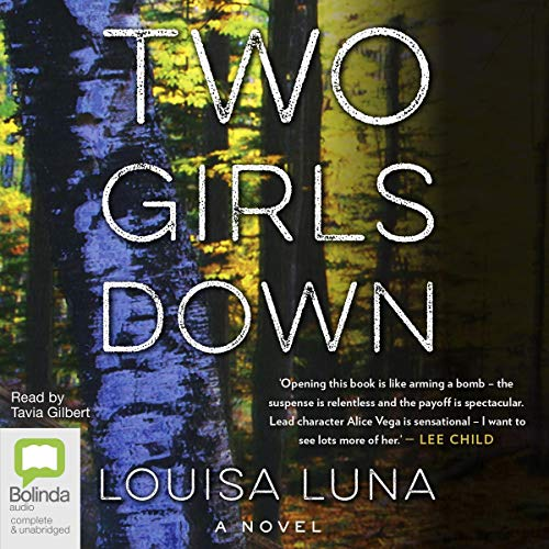 Two Girls Down audiobook cover art