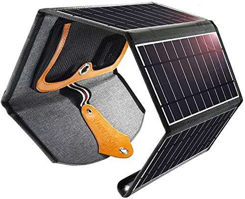 YUNZHI Manual de Cargador Solar Portátil Plegable Fuente de Alimentación Móvil Universal Cargador Solar de Dos Puertos 22w, Cargador Solar, Panel Solar 22w