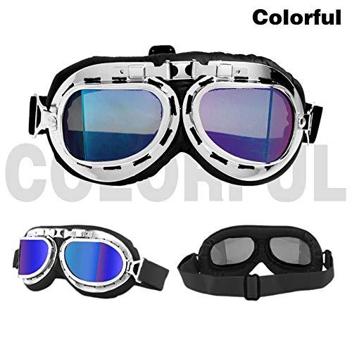 Cheapest Prices! XIONGHAIZI Gafas de sol para motocicleta WWII Vintage Retro gafas de sol para Bicic...