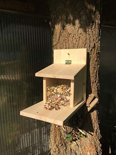 cura-canin XXL Eichhörnchen Futterautomat Eichhörnchenfutterhaus Futterstation Nussstation - 2