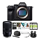 Sony Alpha a7R IV Mirrorless Digital Camera Body with Tamron Di III RXD 28-75mm f/2.8 Lens and Software Suite Bundle (8 Items)