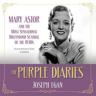 The Purple Diaries audiobook cover art