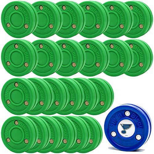Green Biscuit 24 Pack Passers - Get NHL Puck/GB Sticker/GB Sticker