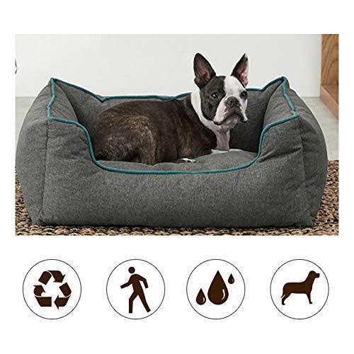FRDF Oxford-textiel huisdier-bed, warm gezellig anti-slip hondennest, kussen waterdichte softcat voor slaap
