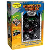 Creativity for Kids Monster Trucks Custom Shop - 2 Pack