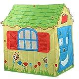 Keenso Tent Playhouse, Carpa de Juguete espaciosa y Liviana Carpa de Juego para niños Duradera con Varilla Casa de Juegos para niños para Interiores y Exteriores