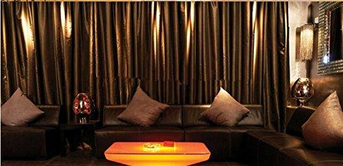 Gowe LED Lumineux meubles Table de salle à manger pour 4 personnes, Studio LED, LED Table basse pour bar, salle de réunion, salon, ou les événements