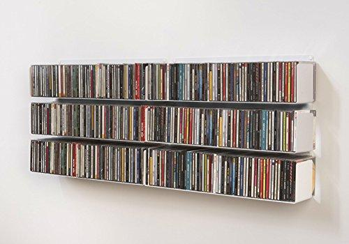 La Mejor Selección de Estanterías para CDs y DVDs , listamos los 10 mejores. 6