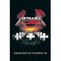METALLICA メタリカ (結成40周年) - MASTER OF PUPPETS/ポスター 【公式/オフィシャル】