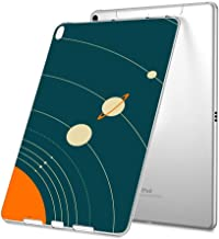 Customized Protective Cover with Personalized Durable TPU Ultra-Clear Silicone UV Printing Case for Solar System Diagram iPad Air 2
