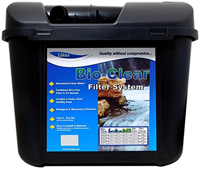 Lotus bioclear 8000 Pond filter UV