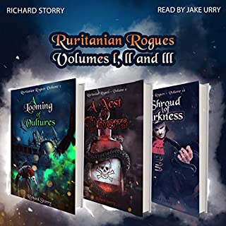 Ruritanian Rogues: Volumes 1-3                   By:                                                                                                                                 Richard Storry                               Narrated by:                                                                                                                                 Jake Urry                      Length: 14 hrs and 51 mins     4 ratings     Overall 4.8