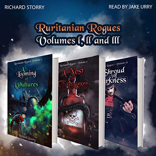 Ruritanian Rogues: Volumes 1-3 Audiobook By Richard Storry cover art