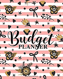Budget Planner: A Personal Finance Organizer for Budgeting Your Income & Tracking Your Expenses