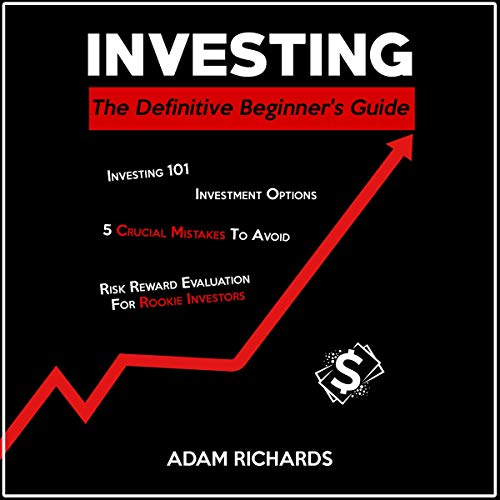 Page de couverture de Investing for Beginners: The Definitive Beginner's Guide