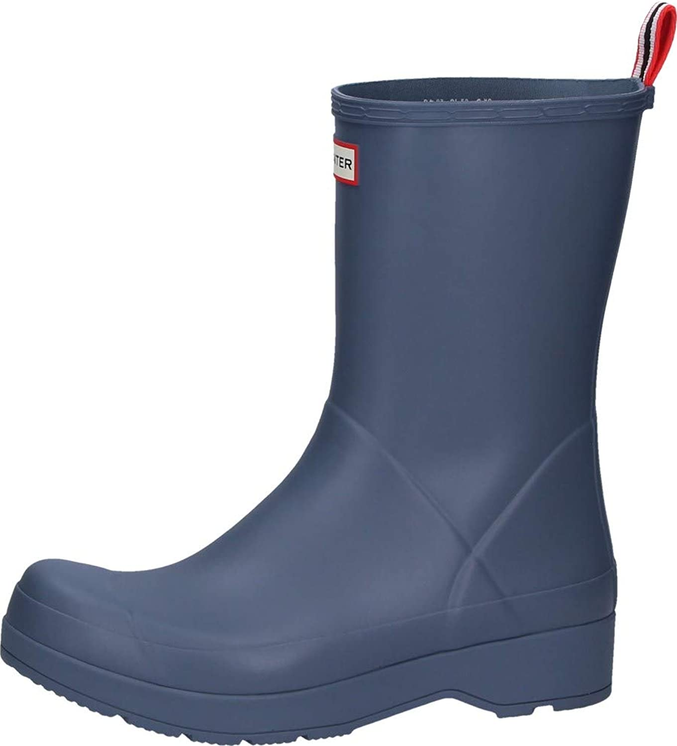 Hunter Men's Original Play Short Rain Boot in Gull Grey
