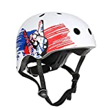 VOKUL Skate Helmet CPSC ASTM Certified Impact Resistance Ventilation for Kid/Youth/Adult Skateboarding Inline Skating Cycling...