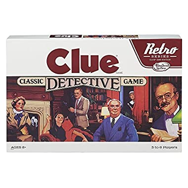 Hasbro Retro Series Clue 1986 Edition Game