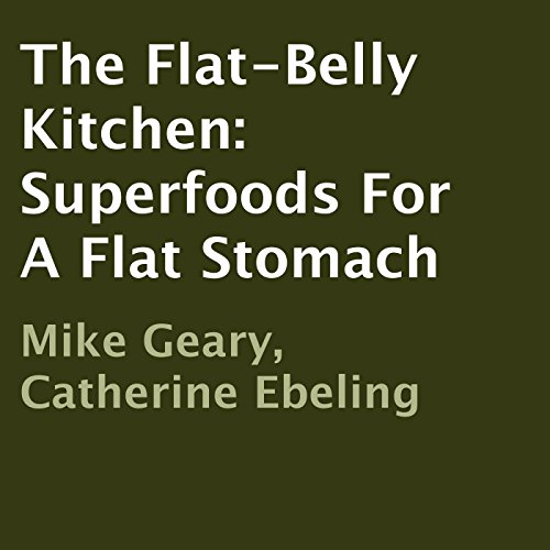 The Flat-Belly Kitchen audiobook cover art