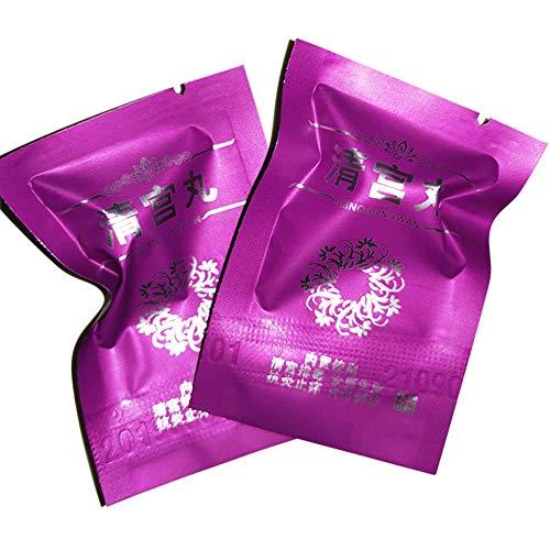 MAOJIE Vaginal Detox Pull Line Pille 10 Stück Vaginal Detox Pull Line Pille Tampon Clear Palace Pille für Frauen Tampons Vagina Cleansing Care