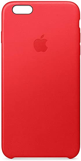 Apple Leather Case (for iPhone 6s Plus) - Product(RED)