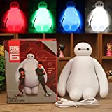 Night Light for Kids Creative New Big Hero Cute Cartoon Baymax LED USB Charging Night Light Bedroom Lamp Children Gift Night Lamp Kids