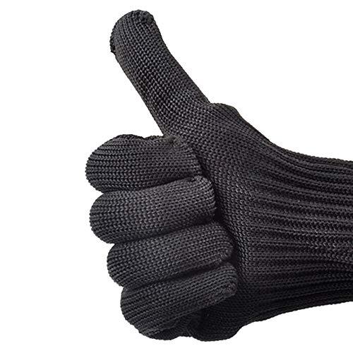 Schnittfeste Handschuhe Schneideständige Handschuhe, Edelstahl-Mesh-Drahthandschuhe, Schneideständige Metzgerhandschuhe, Schwerer Schutz Für Küchenschneiden