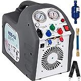 VEVOR Máquina de Recuperación de Refrigerante Máquina de Recuperación de HVAC 220-240 VCA Refrigerante RG6 50 HZ Recuperación de Refrigerante Herramienta de Reparación de Aire Acondicionado
