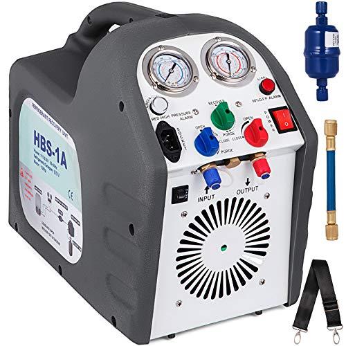 VEVOR Refrigerante Macchina di Recupero HVAC R410A RG6 per Refrigerante sia Liquido che Vapore