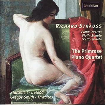 Strauss: Piano Quartet - Violin Sonata - Cello Sonata