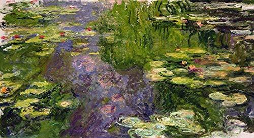 XINTONG Puzzle 1000 Piezas 7-Water Lilies-Claude-Monet DIY Puzzle de Madera Estilo de decoración del hogar