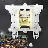 BTdahong - Bomba neumática de membrana doble (1/2', 100 PSI, 2 m3/h, para líquidos, base de agua)