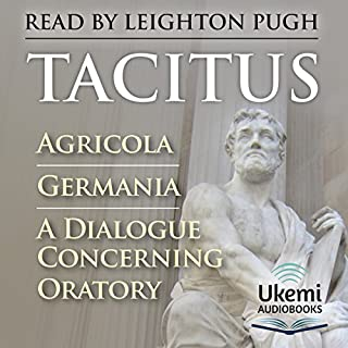 Agricola, Germania, A Dialogue Concerning Oratory cover art