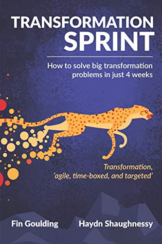 Transformation Sprint: How to fix big transformation problems in just 4 weeks (Digital Transformation Simplified)