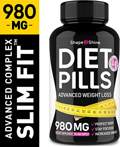 Advanced Weight Loss Pills - Diet Pills That Work Fast for Women & Men - Made in USA - Safe Dietary Supplement with Garcinia Cambogia for Weight Loss - Fat Burner & Appetite Suppressant Pills