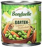 Bonduelle Gartenerbsen mit Möhrchen, 12er Pack (12 x 425 ml Dose)