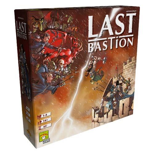 Asmodee Italia- Last Bastion Tafelspiel, Colore, 8411
