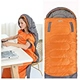 DESERT & FOX Wearable Sleeping Bag, Walking Sleeping Bags with Openable Holes, Lightweight & Portable Backpacking Compression Sack for Camping, Hiking, Traveling