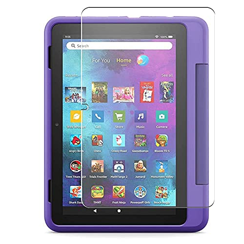 Vaxson 3 Unidades Protector de Pantalla, compatible con Fire HD 8 Kids Pro tablet 2021 8' [No Vidrio Templado Carcasa Case ] Película Protectora Film Guard