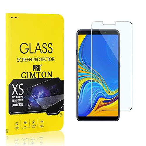 GIMTON Displayschutzfolie für Galaxy A9 2018, 9H Härte, Anti Bläschen Displayschutz Schutzfolie für Samsung Galaxy A9 2018, Einfach Installieren, 2 Stück