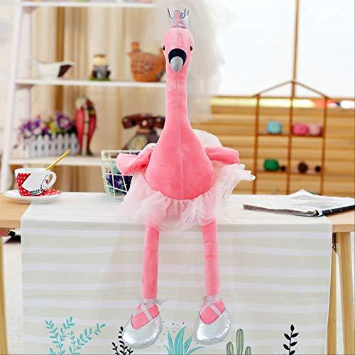 Knuffel, Zwaan Knuffels Leuke Flamingopop Gevulde Zachte Dierenpop Ballet Baby Kids Sussen Speelgoedcadeau Voor Meisje 35cm Roze