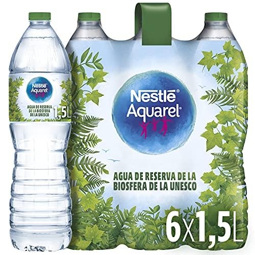 Nestlé Aquarel Agua Mineral Natural, 6 x 1.5L