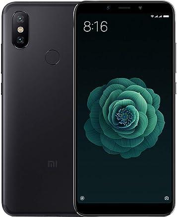 Xiaomi Mi A2 Dual Sim 64GB/4GB en Ram Pantalla 5.99in FHD, Camara Dual 20MP + 12MP, Libre de Fabrica Version Internacional, Negro (Renewed)