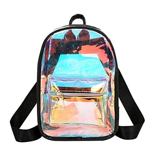 Women's Laser Backpack Bags Holographic Book Bags Girls Holographic Shoulder Bags Women's Backpacks