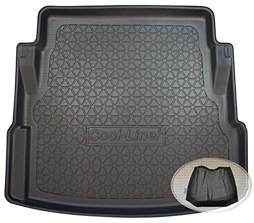 ZentimeX Z3374788 Diamanten-Design Kofferraumwanne fahrzeugspezifisch + Klett-Organizer (Laderaumwanne, Kofferraummatte)